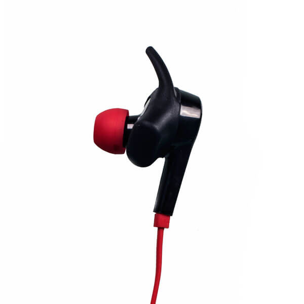 best noise cancelling earbuds red detail
