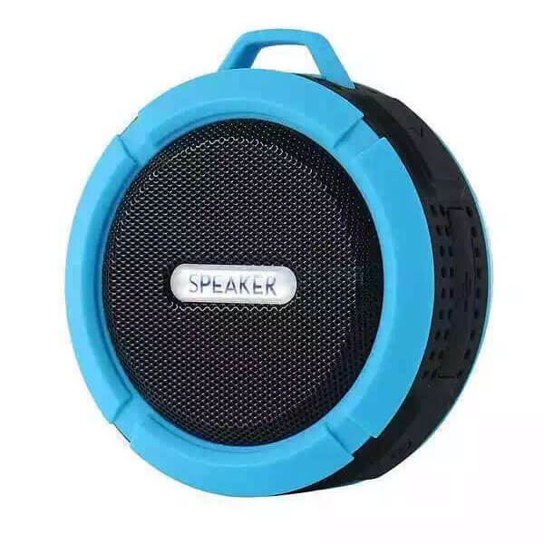 best waterproof bluetooth speaker blue color