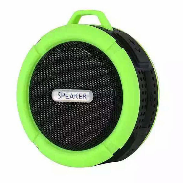 best waterproof bluetooth speaker green color