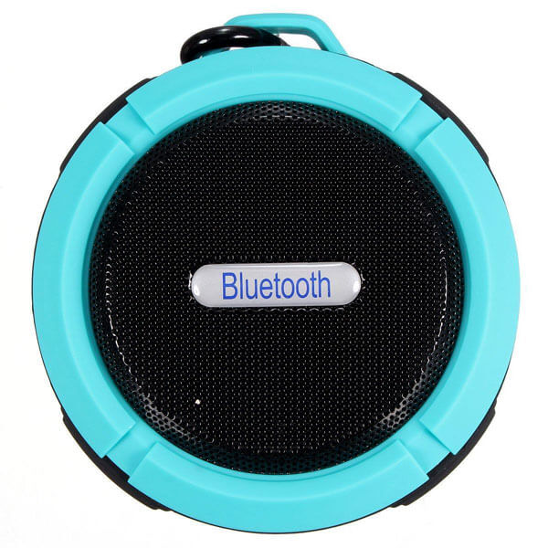 best waterproof bluetooth speaker light blue