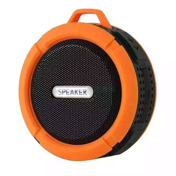 best waterproof bluetooth speaker orange color