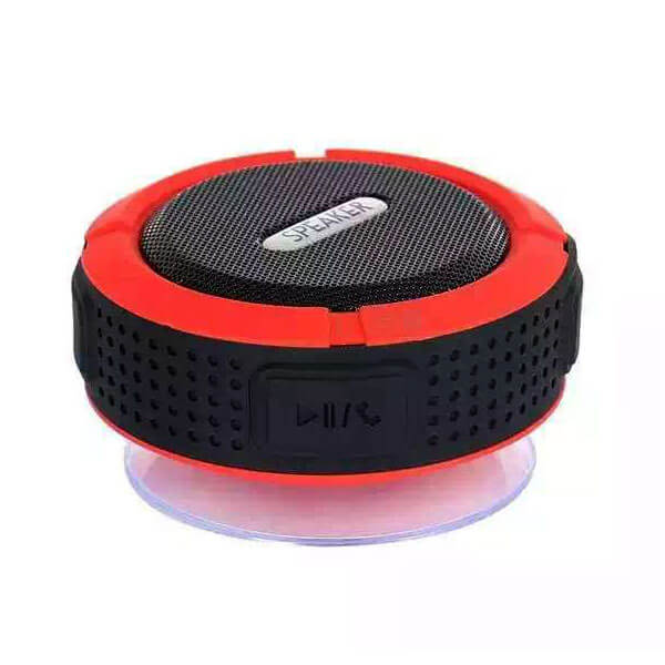 best waterproof bluetooth speaker red color