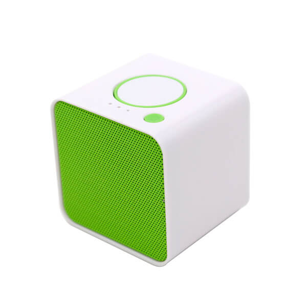 china bluetooth speaker green color side