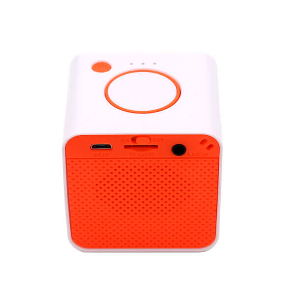 china bluetooth speaker red color back