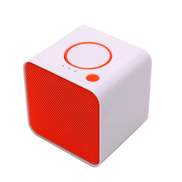 china bluetooth speaker red color front