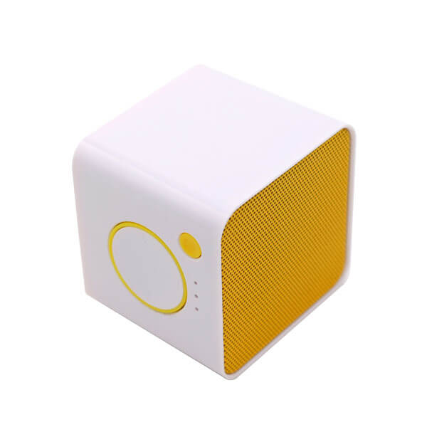 china bluetooth speaker yellow side