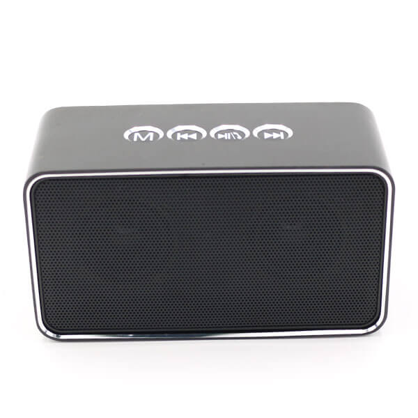 chinese bluetooth speaker grey color front
