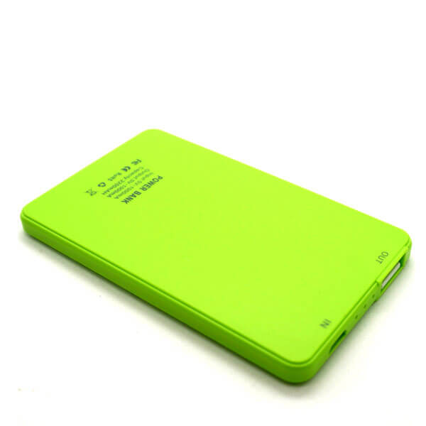 chinese power bank green back