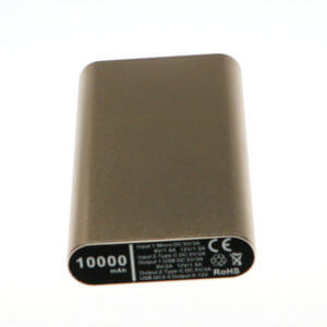 fastest charging power bank gold color