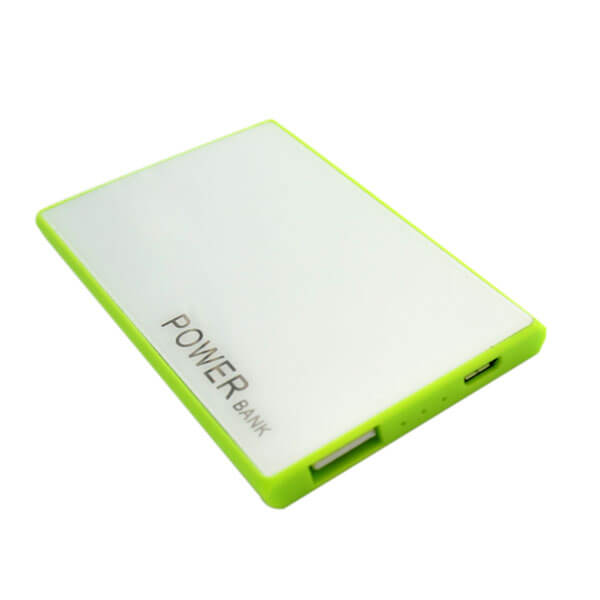 oem power bank green front