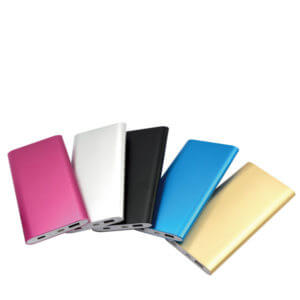 power bank fast charging color show