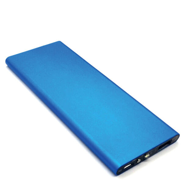 power bank manufacturers blue color front