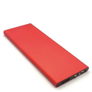 power bank manufacturers red color front