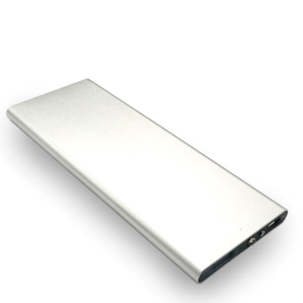 power bank manufacturers sliver color