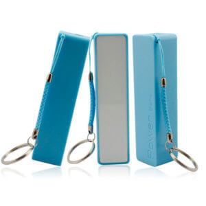 promotional power banks blue