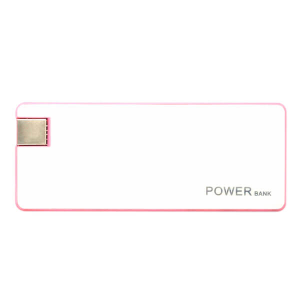 smart power bank Pink Color