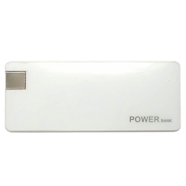smart power bank white color