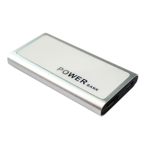 supplier power bank sliver color