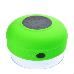 waterproof bluetooth speaker green color