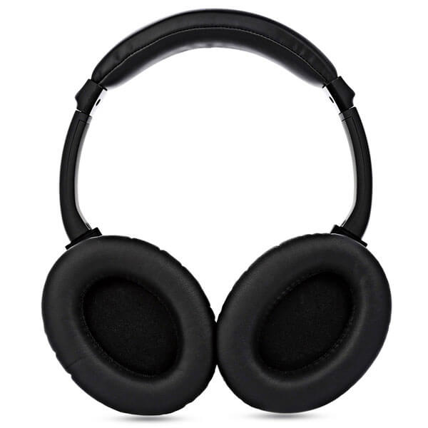 wireless noise cancelling headphones ear side