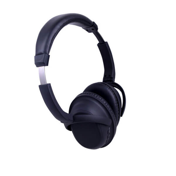 wireless noise cancelling headphones side show
