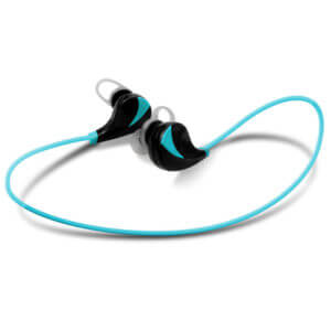 wireless sport headphones Blue