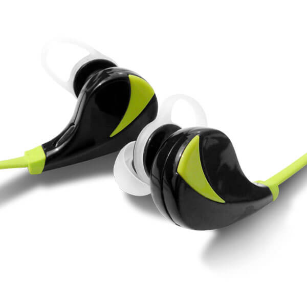 wireless sport headphones Green