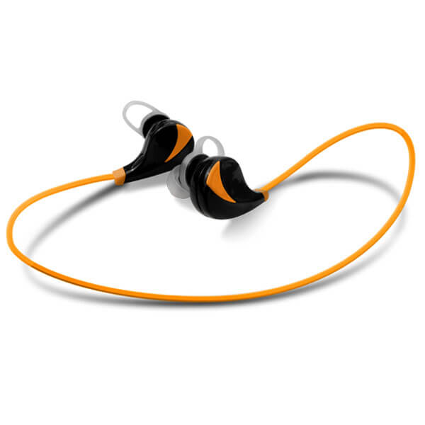 wireless sport headphones Orange color